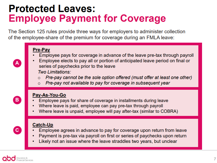 Terminating Health Benefits For Employees On Disability Leave Abd Insurance Financial Services