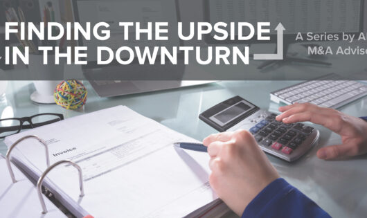 finding the upside in the downturn series header