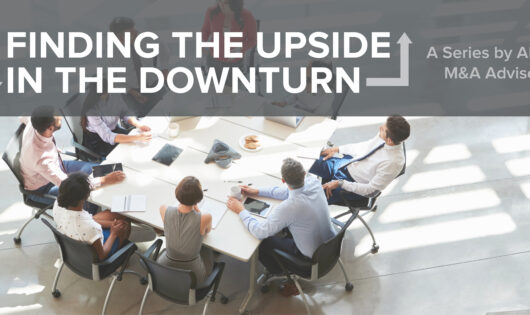 Finding the Upside in the Downturn - D&O header