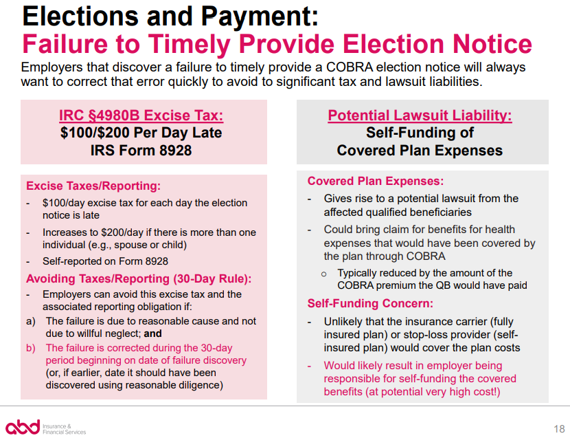 Elections and Payment